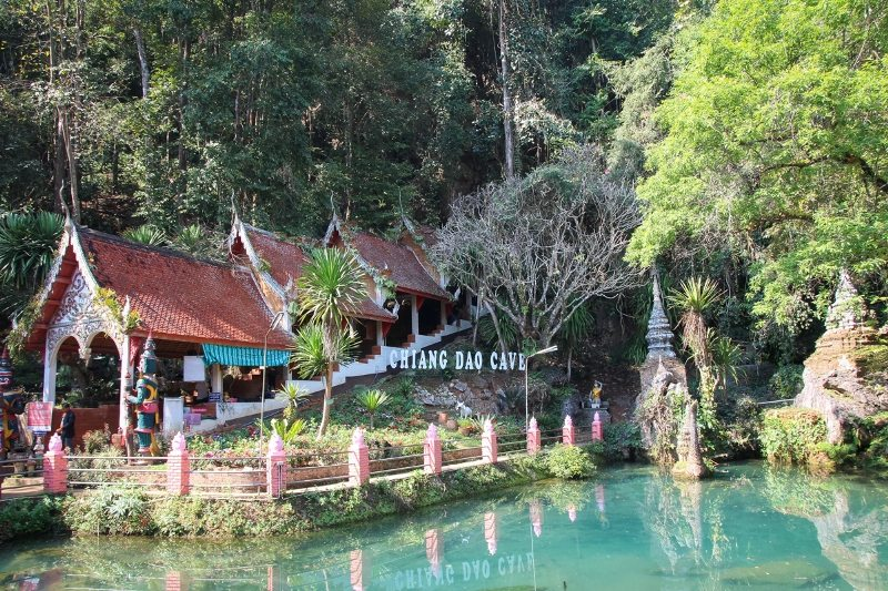 Die Chiang Dao Cave im Norden von Thailand