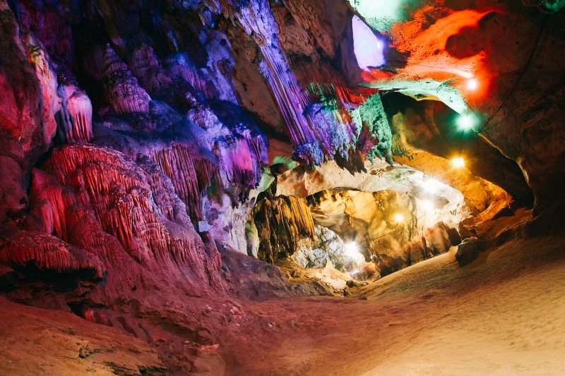 Chiang Dao Cave in Thailand