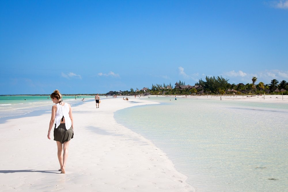 Beach baby, traumhafter Strand - Isla Holbox Tipps