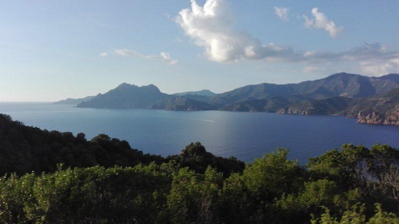 Calanche Steilkueste an der Westkueste Korsikas
