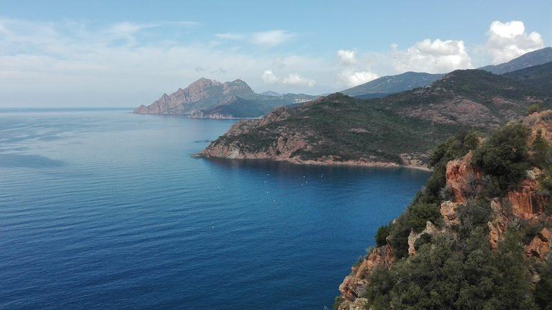 Highlight unserer Korsika Rundreise: Die felsige Calanche bei Porto