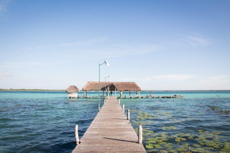Yucatán Rundreise Tipps: Bacalar - Lagune der 7 Farben