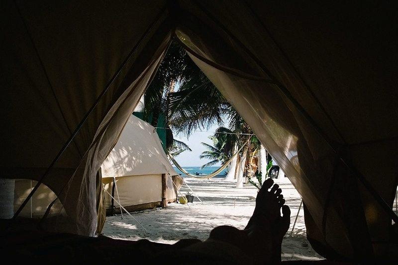Yucatan Rundreise Tipps: Zelten in Tulum