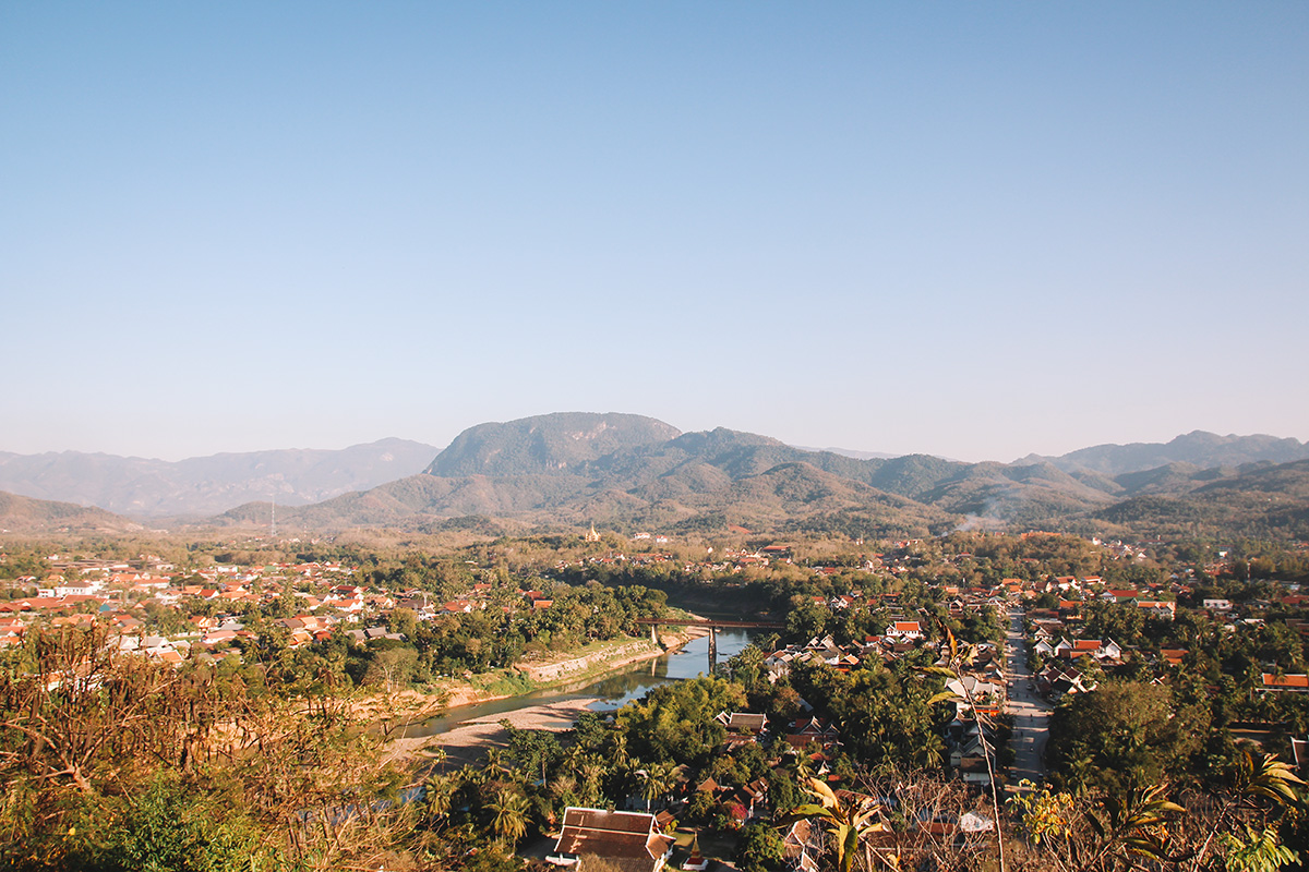 Neustadt Luang Prabang - Laos Backpacking Route