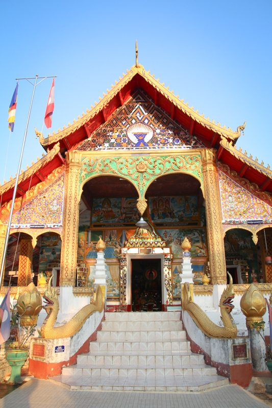 HIghlight in Laos: Tempel in Ban Houayxay