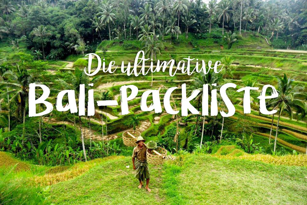 ultimative bali packliste