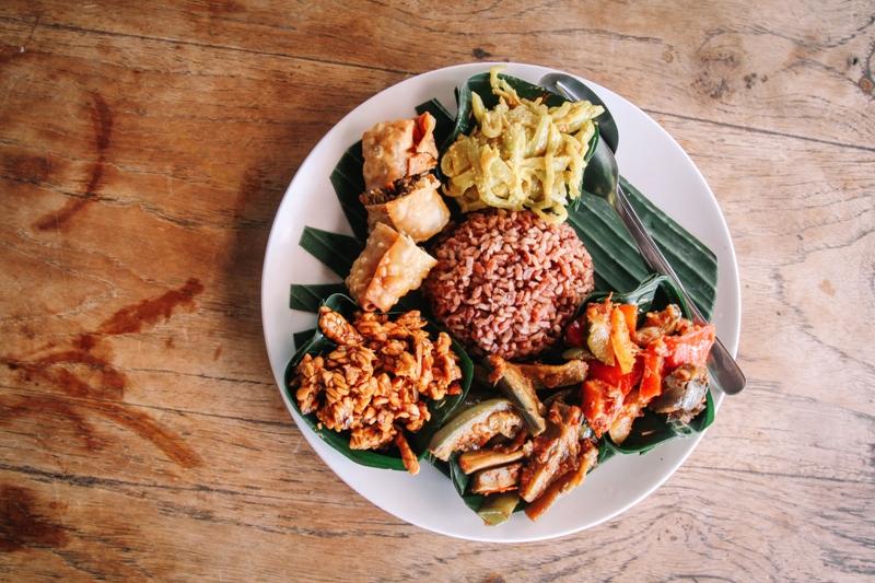 Essens-Tipp für Bali: Nasi Campur