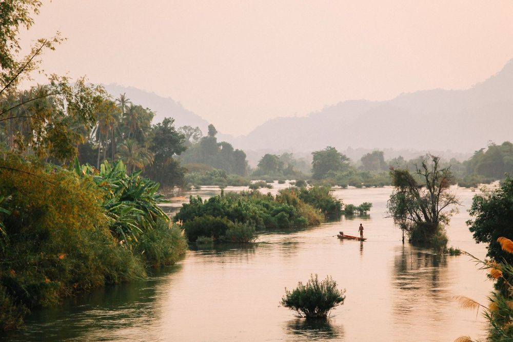 Don Det Laos - Highlight auf den 4.000 Islands