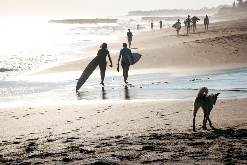 Schönsten Strände Balis: Canggu zum Surfen