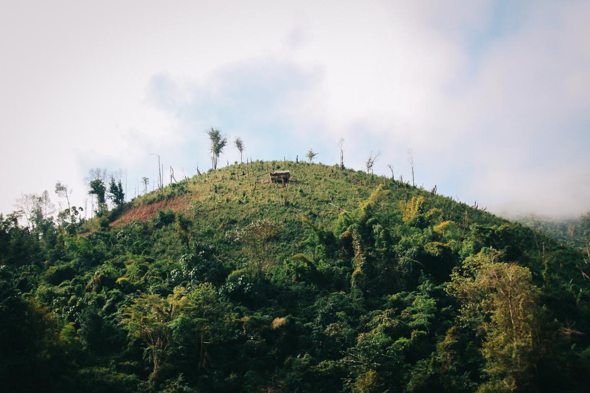 Laos Backpacking Route Pak Beng
