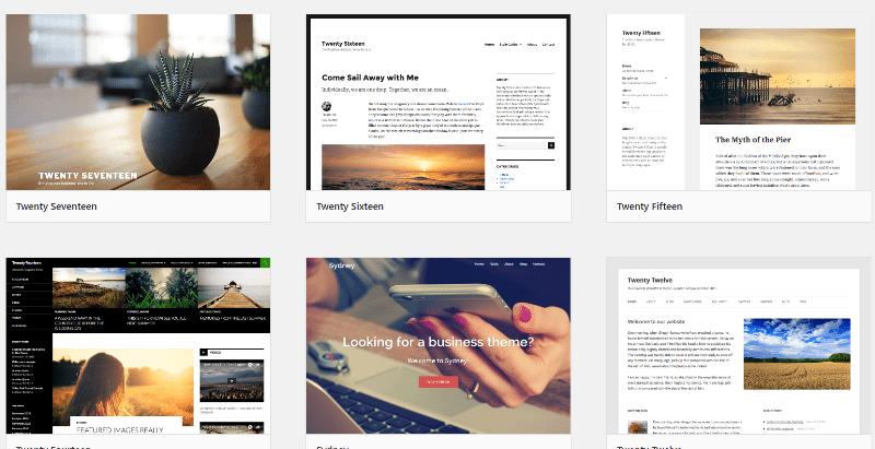 Um einen eigenen Reiseblog zu erstellen, braucht man auch ein Design - die WordPress-Bibliothek bietet viel Auswahl
