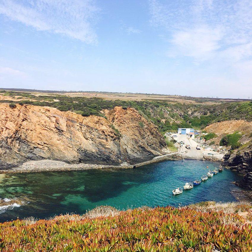 Portugal Route: Vila Nova de Milfontes an der Südwestküste