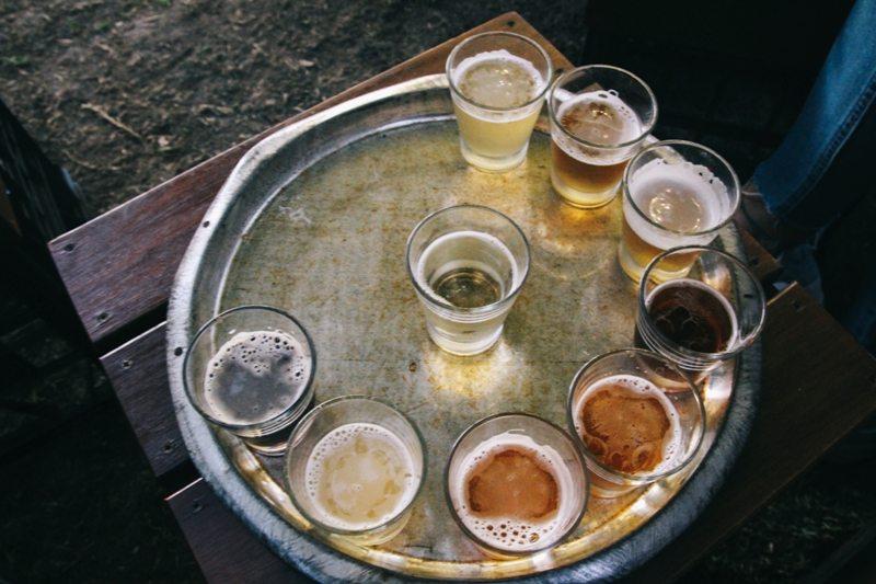 Biertasting in Fremantle Brauerei Little Creatures Westaustraulien