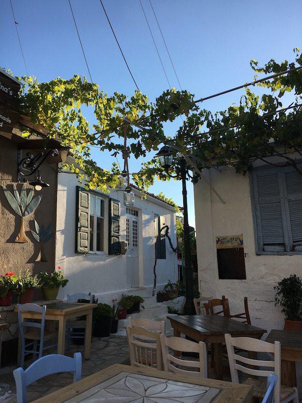 Im Dorf Keri auf Zakynthos