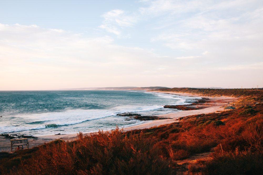 Sonnenuntergang in Kalbarri- unser Highlight auf unserer Route im Norden Westaustraliens