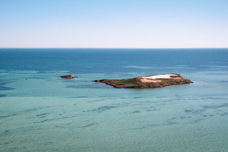 Lookout Shark Bay Westaustralien