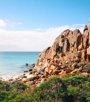 Westaustralien Route Roadtrip im Süden zum Castle Rock am Cape Naturaliste
