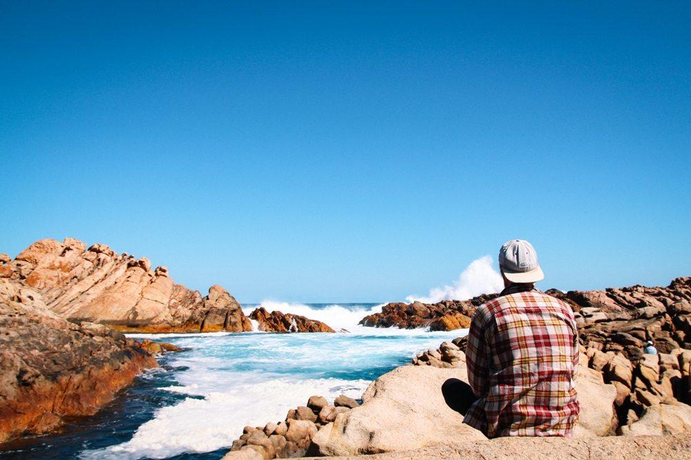 Westaustralien Route Süden: Canal Rocks bei Margarete River