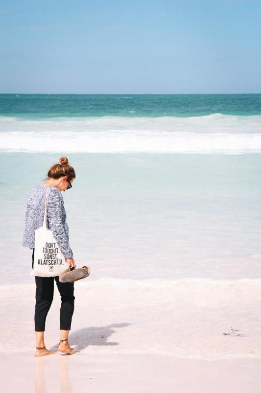 Schneeweißer Strand bei Lancelin Wedge Island Australien Westkueste Highlights
