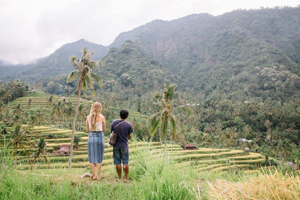 Geheimtipp für eine Bali Backpacking Route - Lemukih in Nordbali - Hier auf Tour mit Buda