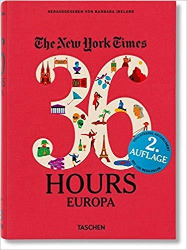 36 Hours in Europe - Geschenkidee für Reisende