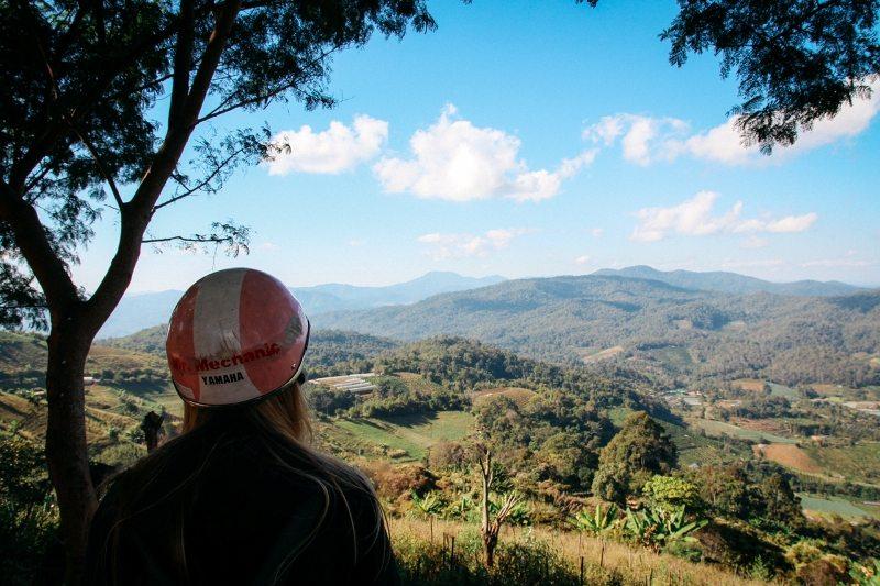 Chiang Mai und Umgebung Backpacking Tipp Viewpoint Ban Nong Hoi