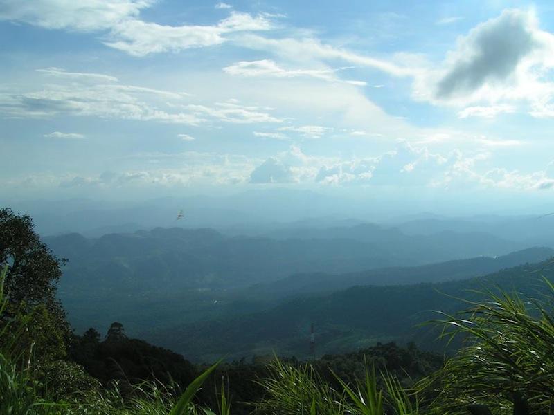 Chiang Mai und Umgebung Backpacking Tipps - bester Ausblick vom Doi Suthep