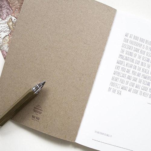 Geschenkideen für Reisende: Notizbuch
