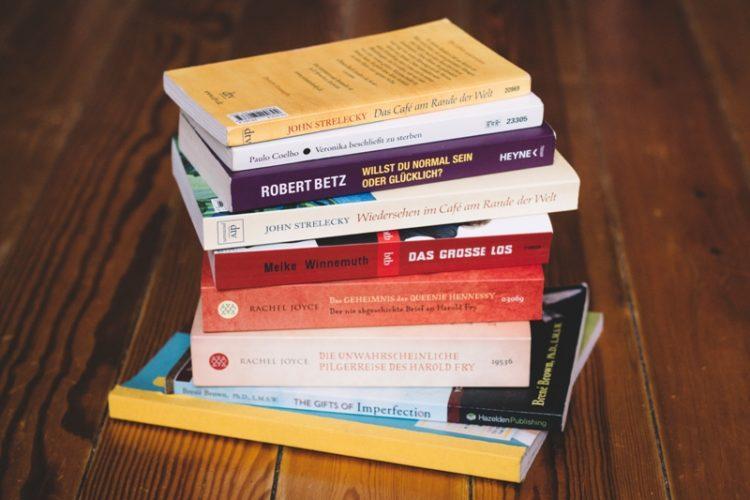 Inspirierende Bücher für eine Weltreise Packliste