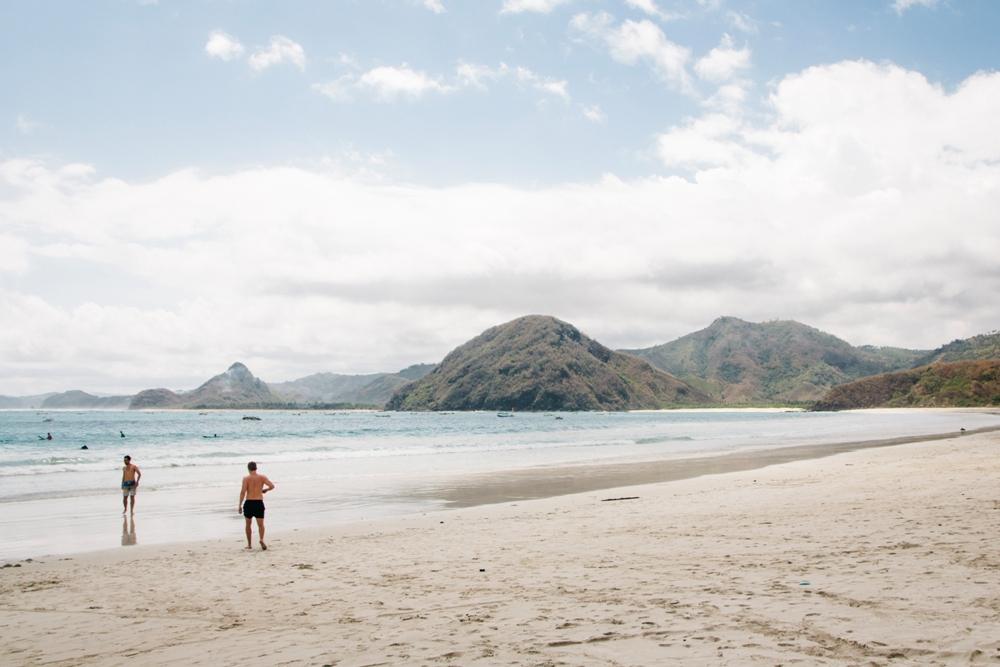 Selong Belanak - ein Traumstrand im Süden von Lombok und gut zum Surfen