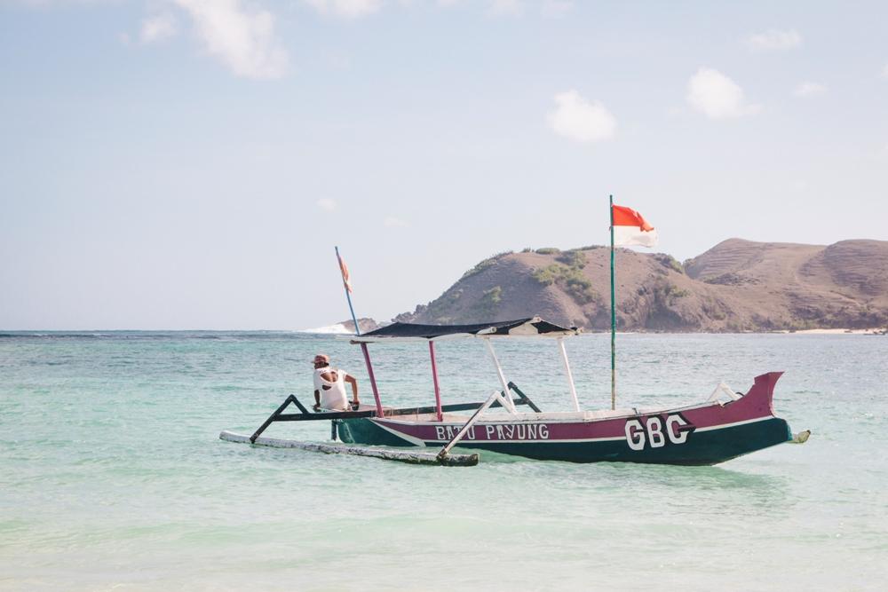 Kuta Lombok Tipps und Highlights wie hier am Strand Tanjung Aan