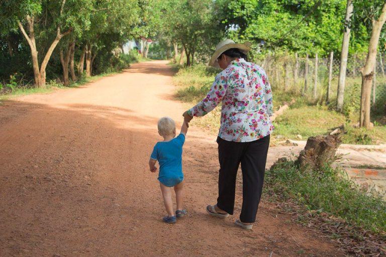 Wohin mit Baby reisen: Kambodscha ist ein sehr kinderfreundliches Land