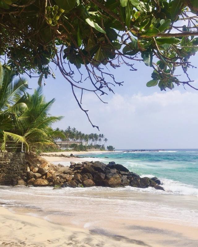 Schönste Strände von Sri Lanka im Süden bei Unawatuna
