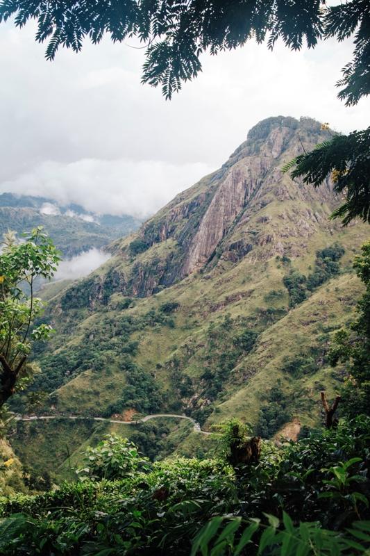 Homestay with a view - auf die Berge von Ella im Sri Lanka Hochland
