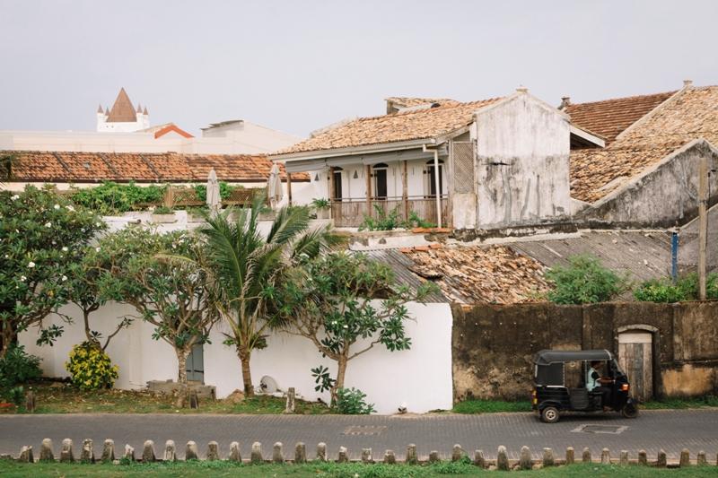 Die Altstadt von Galle im Süden Sri Lankas