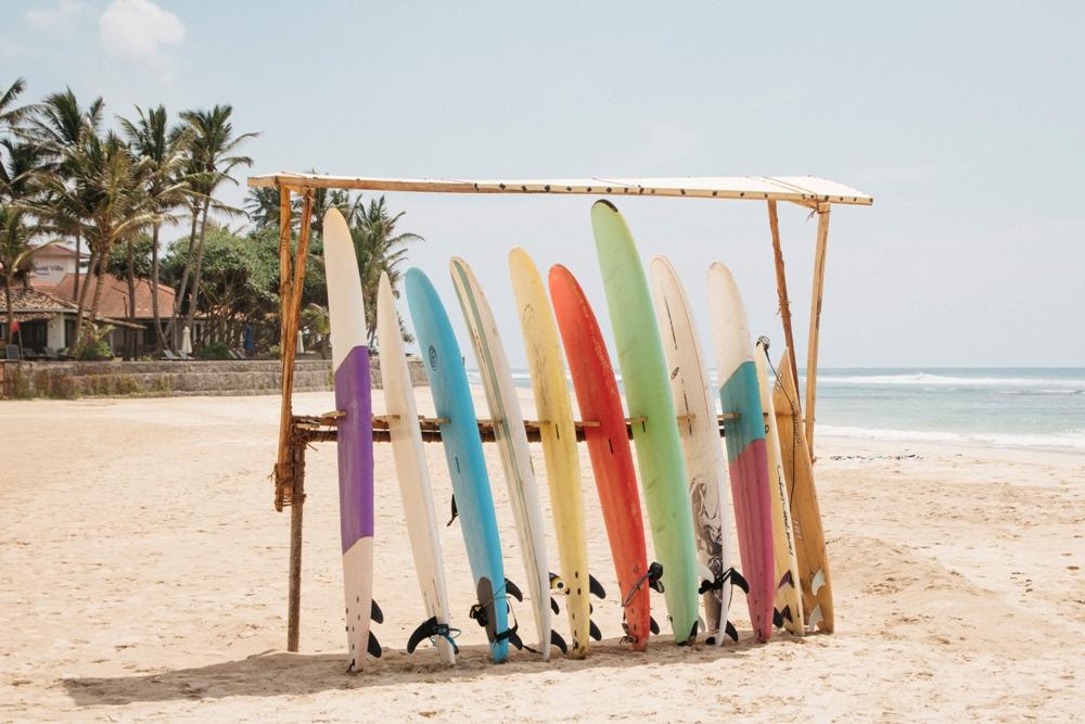 Sri Lanka Backpacking - Surfen im Süden bei Weligama und Dikwella