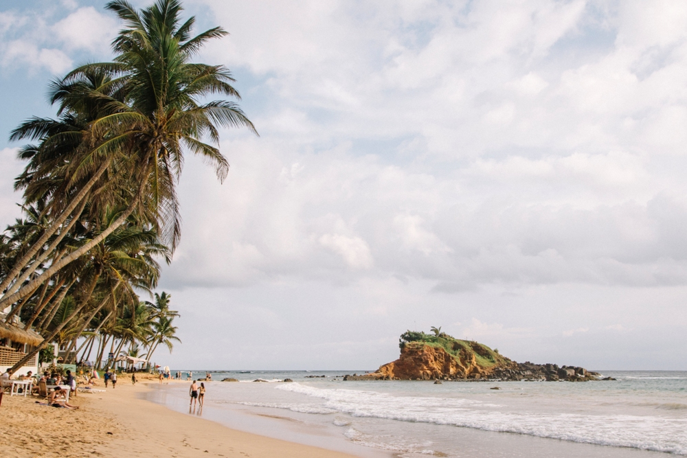 Sri Lanka Backpacking Rundreise - schöne Strände im Süden