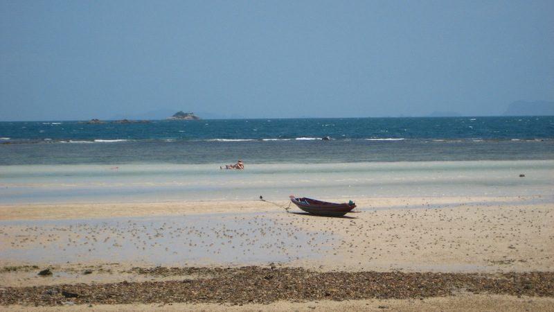 Longtailboot am Haad Chao Pao