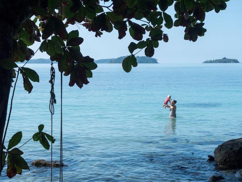 Wohin mit Baby reisen: Tipps für 2 Monate im Paradies