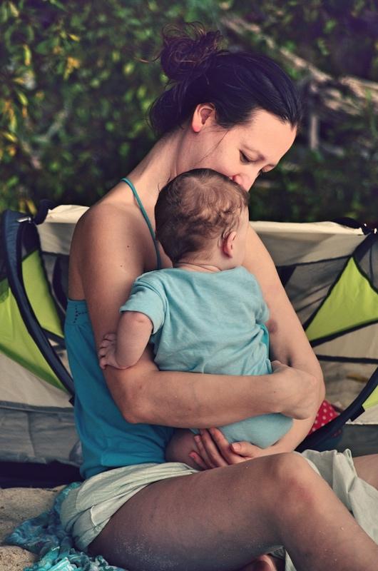 Das solltest du beim Backpacking mit Kind beachten: Sonne meiden