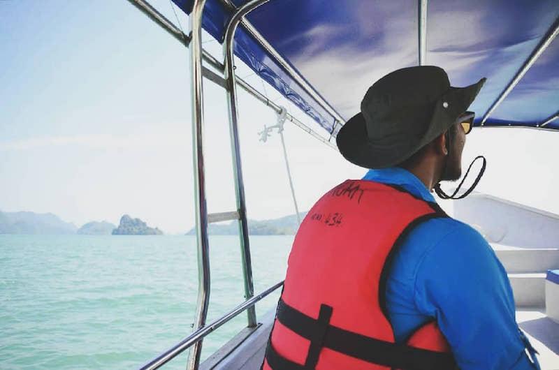 Auf einer Eco-Tour per Boot rundum Langkawi