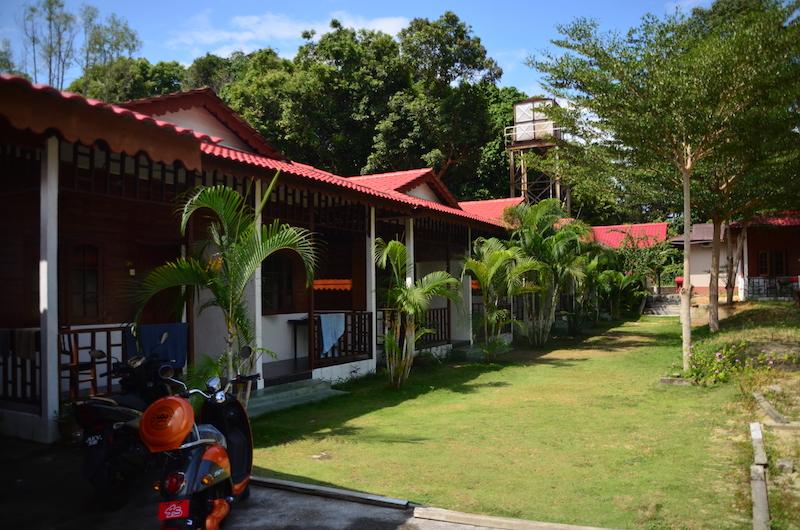 Guenstige Unterkunft auf der Insel Pangkor: Waterfall Beach Resort