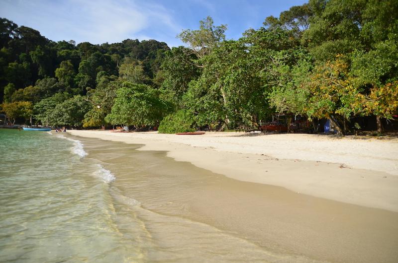 Schoenster Strand auf der Insel Pangkor: Coral Beach