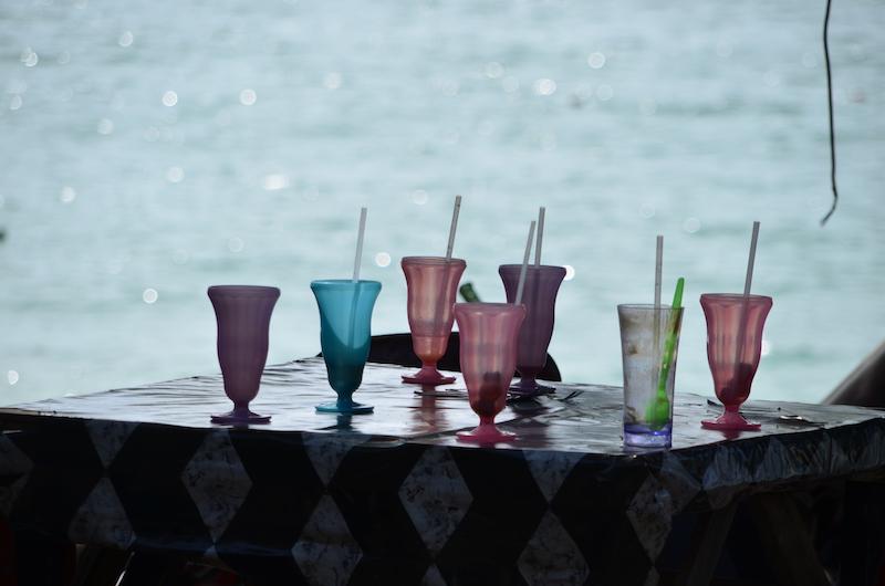Das Getränk in Malaysia ist Milo: Eiskalter Kakao