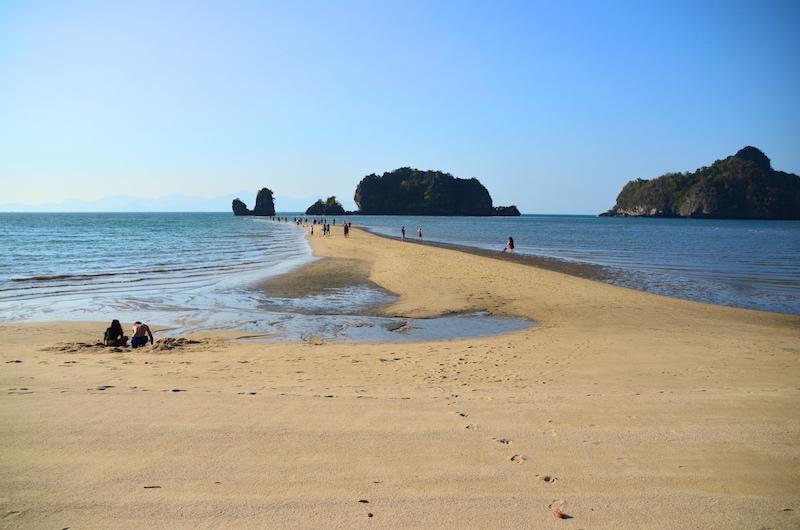 Auch ein Highlight Tanjung Rhu Beach, Langkawi, Westküste Malaysia