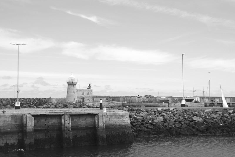 Irland Rundreise: Am Hafen von Howth bei Dublin
