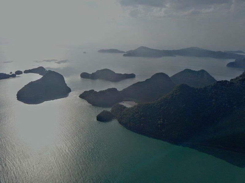 Die Inselgruppe Langkawi im Norden Malaysias