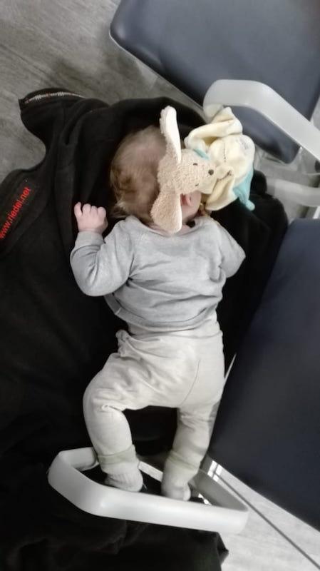 Auf dem Weg nach Malaysia - Unser Baby hat die Zwischenlandung verschlafen