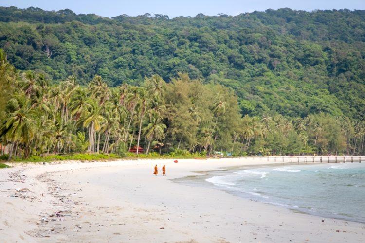 Auf der Insel Koh Kood findet man wunderschöne einsame Strände