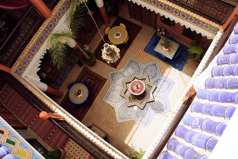 Eine Woche Marrakesch Urlaub - übernachten im Riad